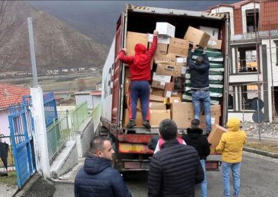 Medizinische Hilfsgüter Kosovo